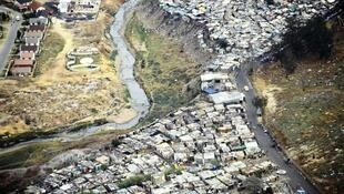 O bairro de Alexandra, Joanesburgo, onde foi morto Emmanuel Sithole