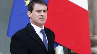 Prime Minister Manuel Valls announces his new cabinet