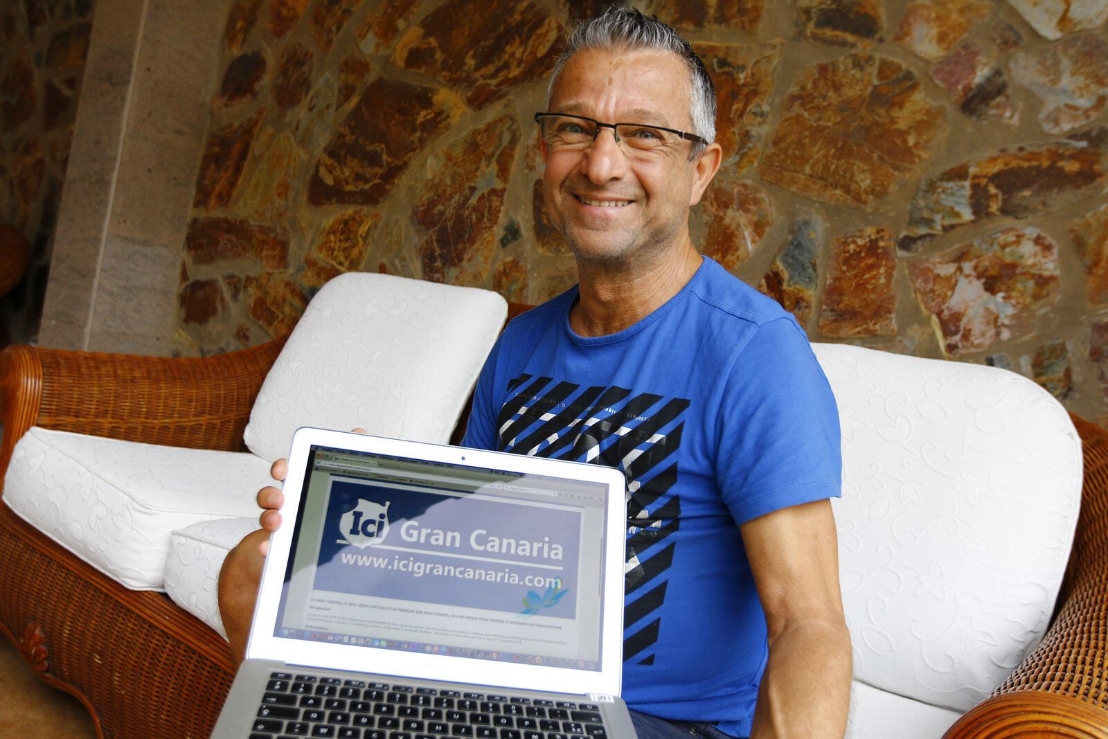 Pierre Salducci, rédacteur en chef du site en français Gran Canaria, est un observateur avisé de la situation actuelle du tourisme dans l'île.