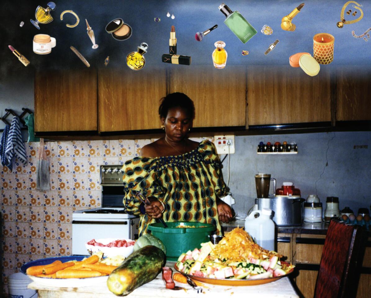 « Day Dream », de l'artiste nigériane Fatimah Tuggar, dans l'exposition « Au-delà des apparences », jusqu'au 30 mai 2021 aux Abattoirs de Toulouse dans le cadre de la Saison Africa 2020. © Fatimah Tuggar