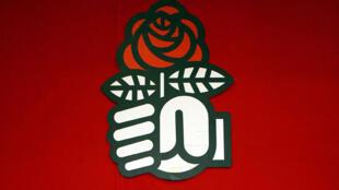 Emblema del Partido Socialista francés.