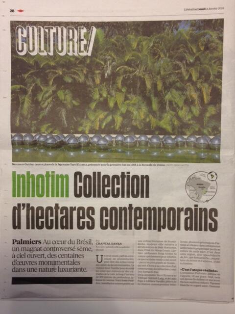 Libération de 4 de janeiro de 2016.