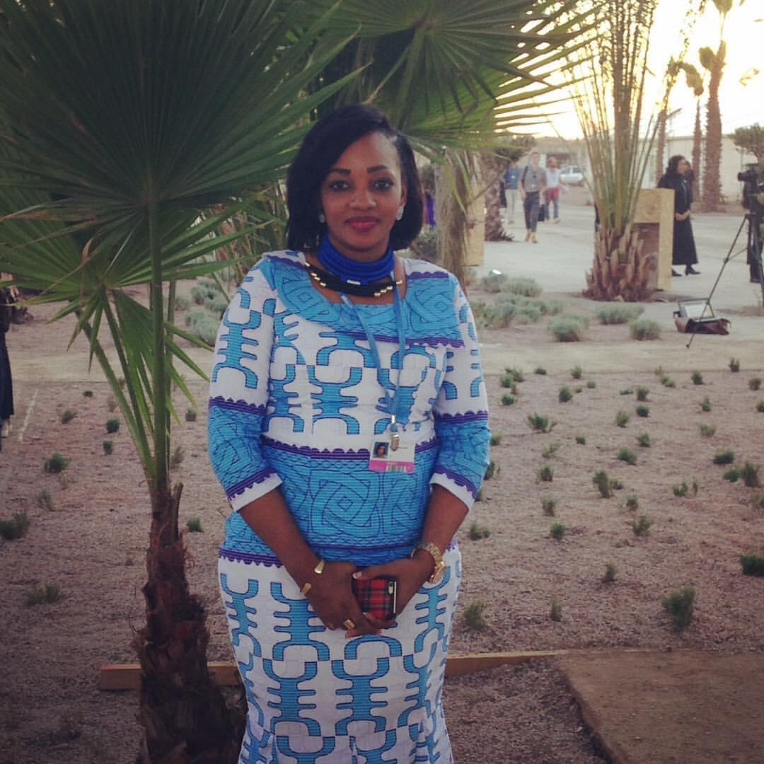 Mariam Diallo Drame, director of an NGO in Mali that empowers women.