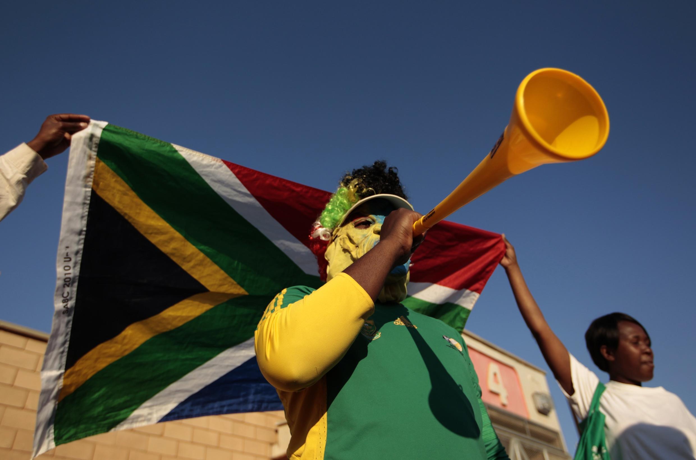 Giới mê bóng đá Nam Phi