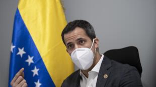 Venezuelan opposition leader Juan Guaido says the international community still needs him to help oust President Nicolas Maduro
