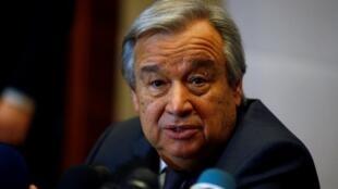Sakataren Majalisar Dinkin Duniya Antonio Guterres
