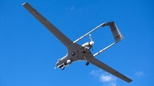 Une drone utilisé par l'armée turc dans le conflit contre les rebelles du PKK, dans le nord de l'Irak.