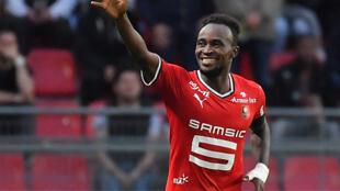 Firmin Mubele, attaquant du Stade rennais et de la RDC, réalise un début de saison 2017-2018 canon avec le club breton.