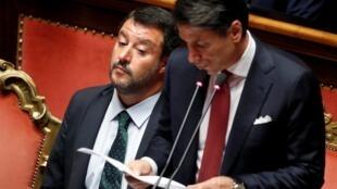 جوزپه کونته، رئیس شورای وزیران ایتالیا، در برابر سنای این کشور اعلام کرد استعفای خود را به رئیس جمهوری تسلیم میکند - ٢٠ اوت ٢٠١٩/٢٩ مرداد ١٣٩٨
