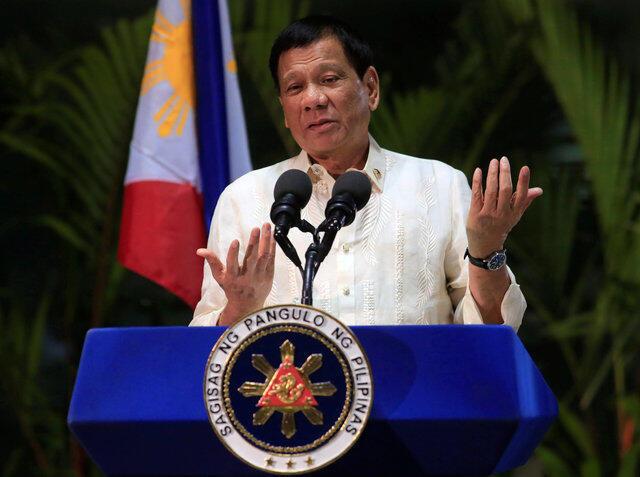 Jumamosi hii, Oktoba 2, Rodrigo Duterte ametangaza kwamba hatogombea kwenye nafasi ya makamu wa rais mnamo mwaka 2022 na atastaafu katika siasa.