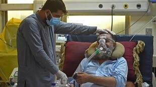 Officially Afghanistan has recorded fewer than 90,000 infections but health experts say the true figure is much worse