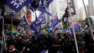 À Hong Kong, l'année 2020 a commencé avec une première manifestation anti-gouvernementale.