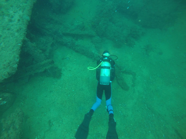 Tacoma wreck near Gorée Island