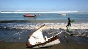 Madagascar souhaiterait développer sa Marine nationale afin de mieux sécuriser les 5 000 km de côtes que compte le pays. (image d'illustration))