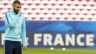 French football player Karim Benzema.