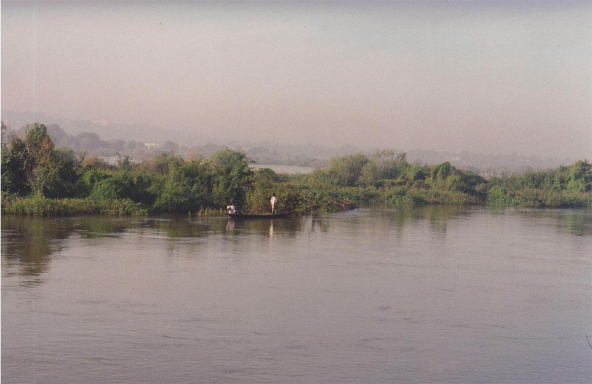 Le fleuve Niger, en 1996. Il y a 25 ans, la simulie infestait de façon endémique les zones riveraines du fleuve Niger.