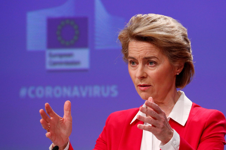 La présidente de la Commission européenne, Ursula von der Leyen, va organiser une conférence des donateurs en ligne pour lever des fonds pour la recherche d'un vaccin et de traitements contre le nouveau coronavirus.