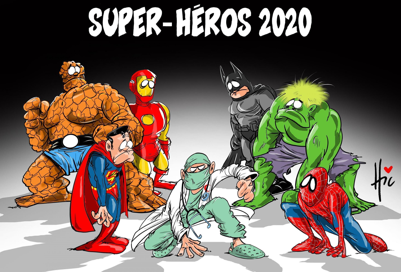 Dessin du dessinateur Le Hic (Algérie) - Cartooning for Peace