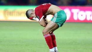Le Marocain Faycal Fajr, après l'élimination du Maroc de la CAN 2019.