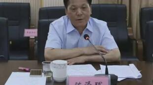 长沙市委原常委、市政府原常务副市长陈泽珲资料图片