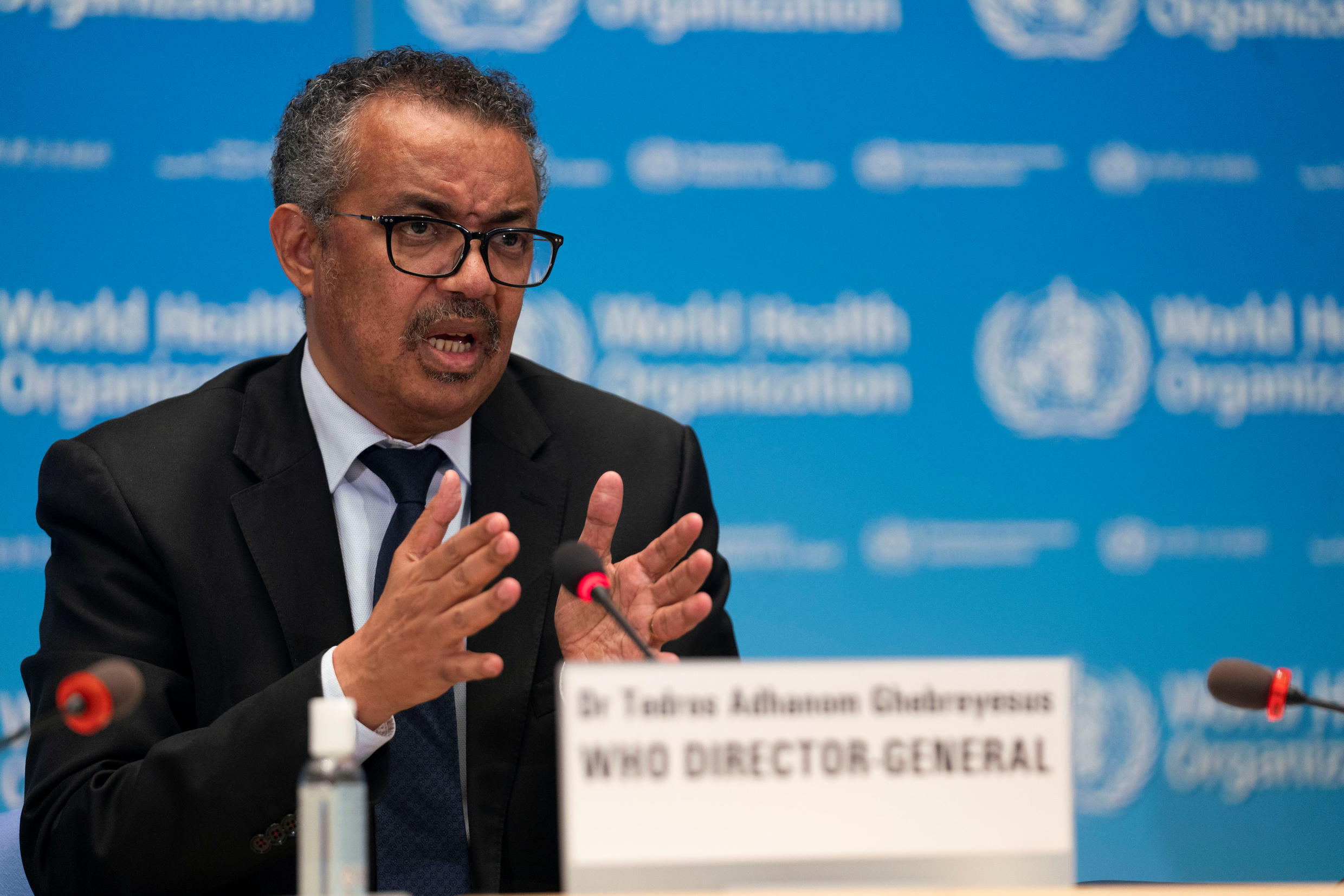 "WHO Director-General Tedros Adhanom Ghebreyesus has warned the coronavirus pandemic is ""still accelerating"", with cases numbers around the world surpassing nine million."