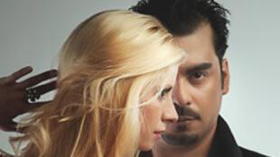 Leandro Gomez et Carolina Gianni, danseurs de la troupe Tango Pasion.