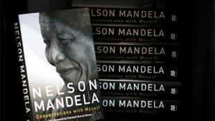 Copies of Nelson Mandela's new book 'Conversations with Myself' in a book shop in Johannesburg.