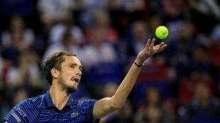 Для 23-летнего Медведева игра в Шанхае — шестой финал «Мастерса» подряд.