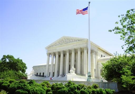 La Cour suprême des Etats-Unis.