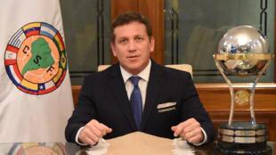 El presidente de la Conmebol, Alejandro Domínguez, justifica la decisión de dar la copa al Chapecoense de manera póstuma