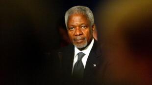 O ex-secretário-geral da ONU Kofi Annan.