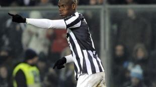 Le joueur de la Juventus, Paul Pogba, le 22 décembre 2013.