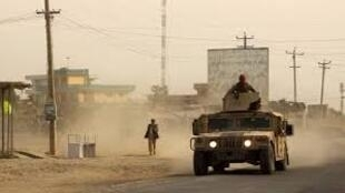 Kunduz, ville prise d'assaut par les talibans depuis le lundi 27 septembre 2015.
