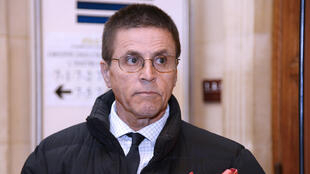 Hassan Diab arrives in court in May 2016