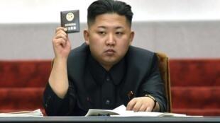 Lãnh đạo Bắc Triều Tiên Kim Jong Un (Reuters /Kcna)