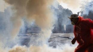 Novos confrontos foram registrados em Bancoc nesta quinta-feira,  26 de dezembro.