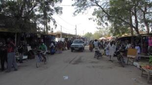 Rue de Nioro, au Mali.