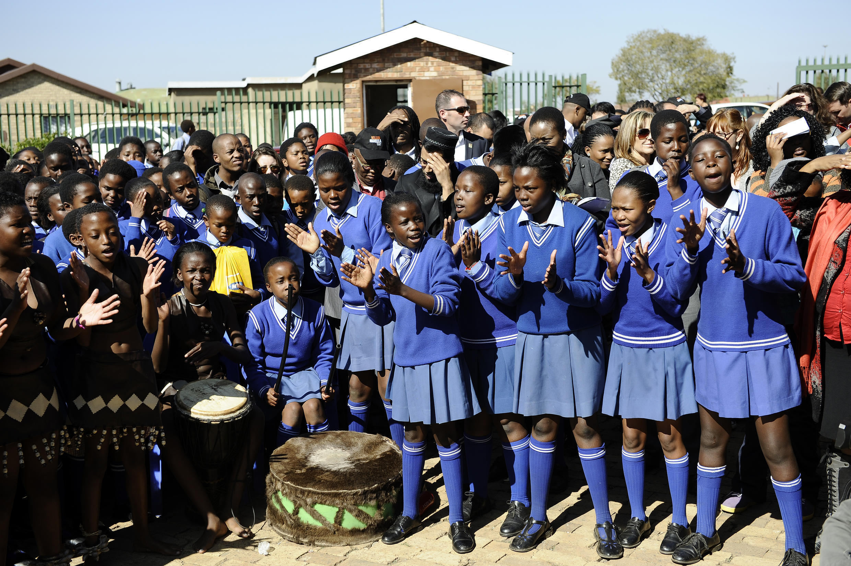 Jeunes filles en Afrique du Sud (Photo d'illustration).