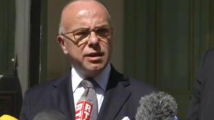 Ministan Harkokin cikin gida na Faransa Bernard Cazeneuve