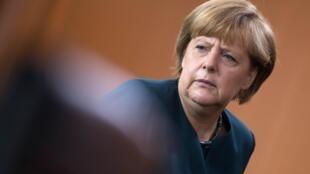 Канцлер Германии Ангела Меркель. Берлин 22/05/2013