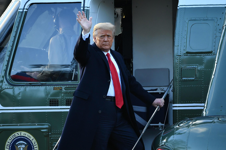 L'ex-président américain Donald Trump