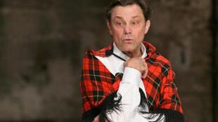 Le comédien Philippe Caubère dans la pièce «La danse du Diable».