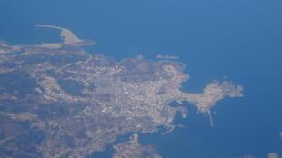 Vue aérienne de La Corogne, la région dans laquelle Diane Quer était partie en vacances.
