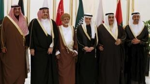 Ministocin harakokin wajen kasashen Gulf a Saudiya
