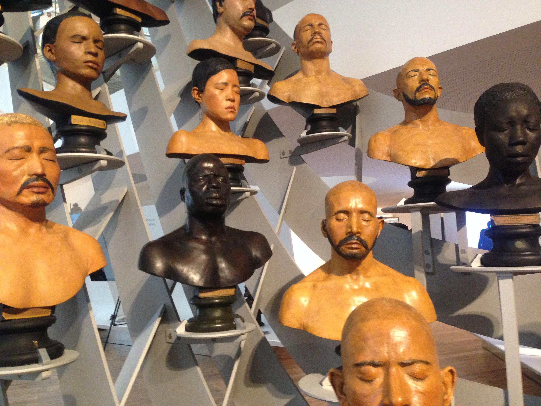 Museu do Homem, em Paris.