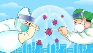 中國網絡關於推行肛試子檢測宣傳圖片