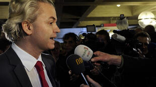 Geert Wilders, leader du parti néerlandais d'extrême droite PVV (Partij voor de Vrijheid), le 3 février 2010.