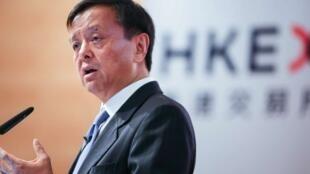 香港交易所集团行政总裁李小加资料图片