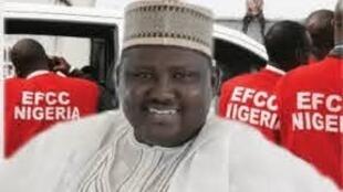 Abdulrasheed Maina, tsohon shugaban kwamitin Fansho da EFCC ke tuhuma da karkatar da kudin da yawansu ya haura biliyan 2.