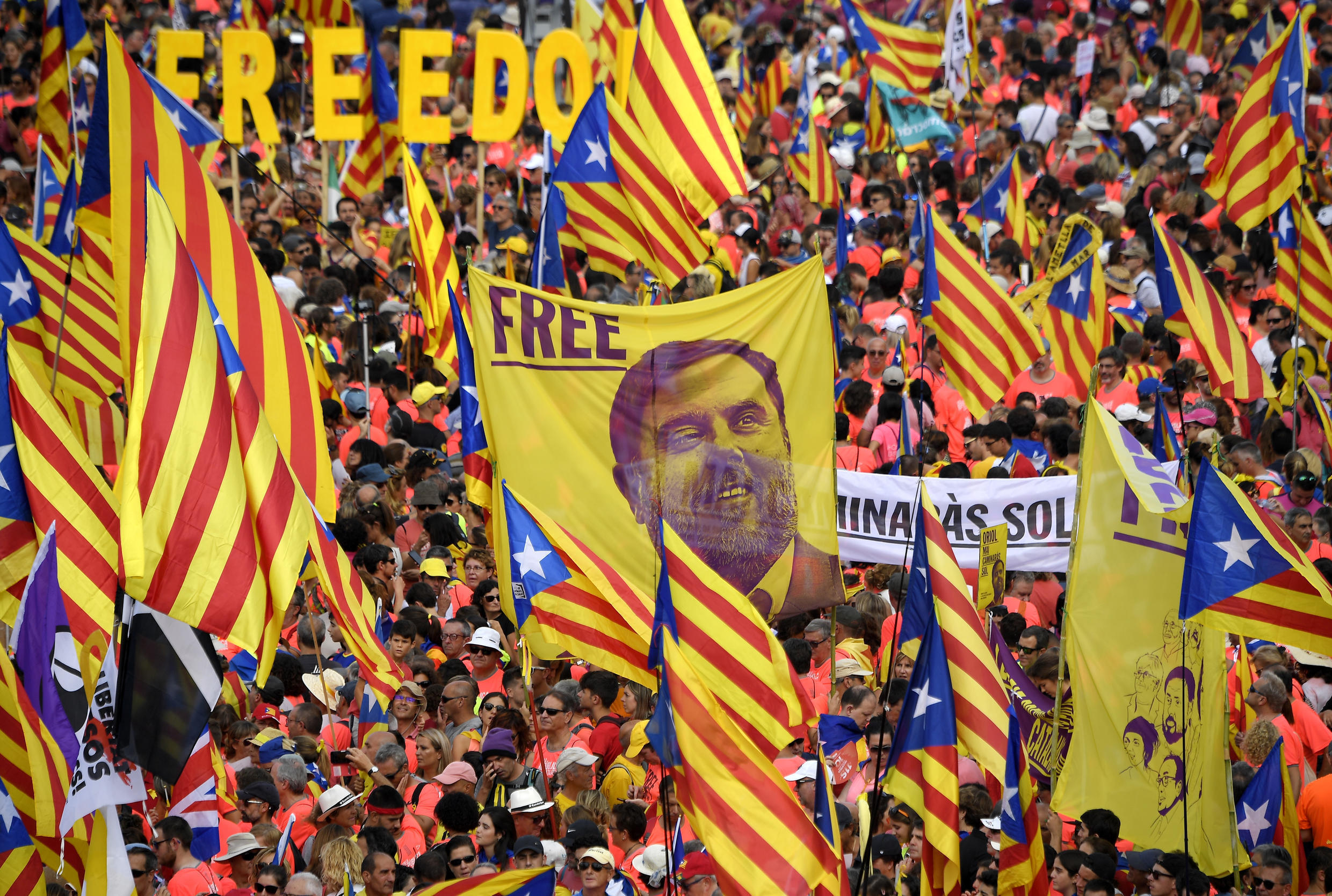 The separatists were convicted over a banned referendum in October 2017 that was marred by police violence and followed by a short-lived declaration of independence, sparking Spain's worst political crisis in decades